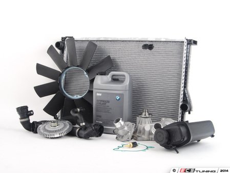 ES#2594563 - 11510393336KT3 - ECS Cooling System Refresh Kit - Level 2 - A more advanced refresh kit - with aftermarket components - Assembled By ECS - BMW