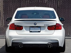 ES#2776736 - 007999ECS01A - Carbon Fiber Performance Rear Spoiler - Add a touch of class and style with a new carbon fiber spoiler - ECS - BMW