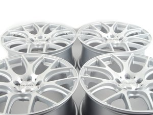 """ES#3550867 - 040-14KT2 - 18"""" Style 040 Wheels - Square Set Of Four - 18x9"""" ET38 72.6CB 5x120. Silver With Machined Face. - Alzor - MINI"""
