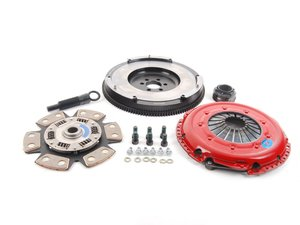ES#3098855 - 205fhddxdbKT - Stage 2 Drag Clutch Kit - Designed for drag or drift cars that see limited street use. Conservatively rated at 365ft/lbs. - South Bend Clutch - Audi Volkswagen