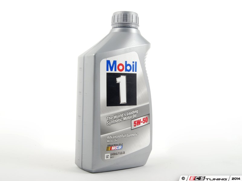 Genuine mercedes benz q1090134 mobil 1 5w 50 full for Mercedes benz oil