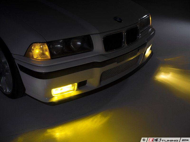 Ziza 005723ziz01kt European Yellow Fog Light Set