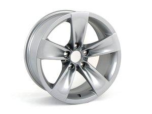 "ES#65036 - 36116777349 - 18"" star Spoke Style 246 Wheel - Priced Each - 18x8 ET20 CB 72.6mm - Genuine BMW - BMW"