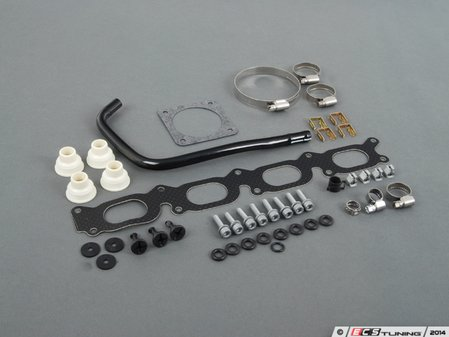 ES#2771951 - 058129717DKT9 - Intake Manifold Gasket Replacement Kit - Parts necessary for intake manifold gasket replacement and so much more - Assembled By ECS - Volkswagen