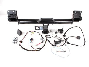ES#262789 - 71602156525 - Trailer Hitch Kit - Complete kit ready to install - Genuine BMW - BMW