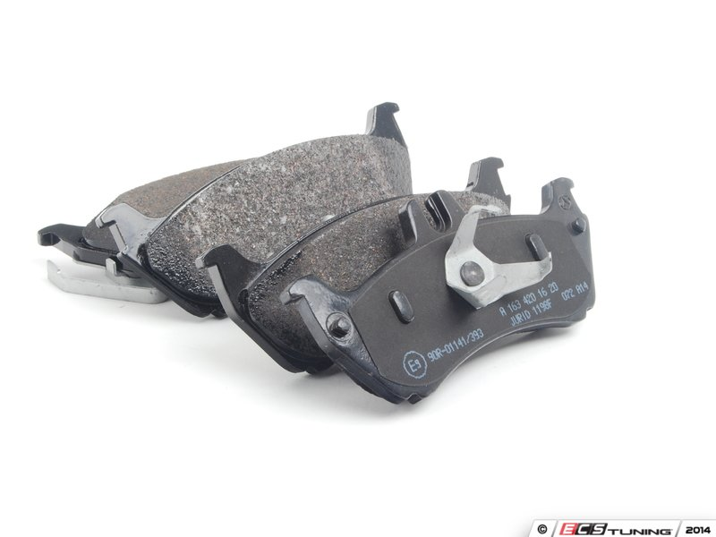 genuine mercedes benz 1634230112kt9 front rear brake