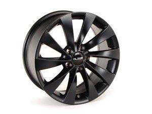 """ES#2731873 - 621-4GM - 17"""" Style 621 - Matte Black - Priced Each - 17x7.5, ET35, 5x112, 66.6CB - Alzor - Audi Volkswagen"""