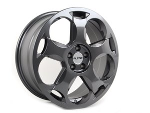 """ES#2777130 - 050-5KT - 18"""" Style 050 Wheels - Set Of Four - (NO LONGER AVAILABLE) - 18x8"""" ET35 5x100 57.1CB. GunMetal - Alzor -"""