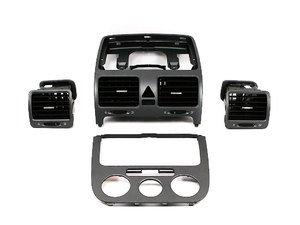 ES#6837 - 1K0898011 - Anthracite Dash Kit - 4-piece kit to give a little flair to your MKV dash - Genuine Volkswagen Audi - Volkswagen