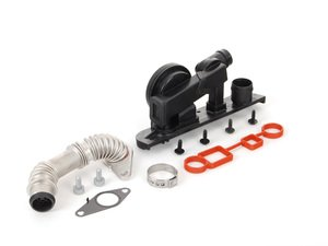 ES#8209 - 06F198202 -  Oil Separator/PCV emissions Service Kit - Everything you need to replace a faulty PCV or to perform some preventative maintenance - Genuine Volkswagen Audi - Audi Volkswagen