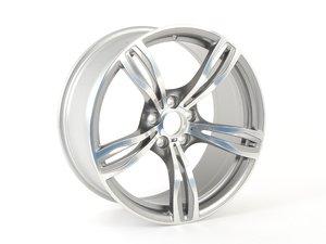 "ES#2572099 - 36112283999 - 20"" M Double Spoke Style 343 Wheel - Priced Each - 20x9 ET32 CB 72.6mm. - Genuine BMW - BMW"