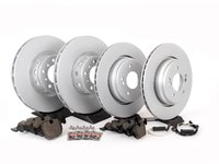 ES#2598468 - ECSE39341121-KT7 - Front And Rear Brake Service Kit - Featuring Meyle Rotors and Quality Pads - Assembled By ECS - BMW