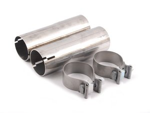 ES#2714757 - 18302287042 - M Performance Intermediate Pipes - These pipes connect the exhaust tips to the M Performance muffler. - Genuine BMW M Performance - BMW