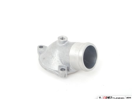 ES#1626674 - 1022030374 - Thermostat Housing - Cooling water outlet from engine to coolant hose - Genuine Mercedes Benz - Mercedes Benz