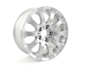 "ES#64986 - 36116775597 - 17"" Spider Spoke Style 159 Wheel - priced Each - 17x8 ET34 72.6mm CB - Genuine BMW - BMW"