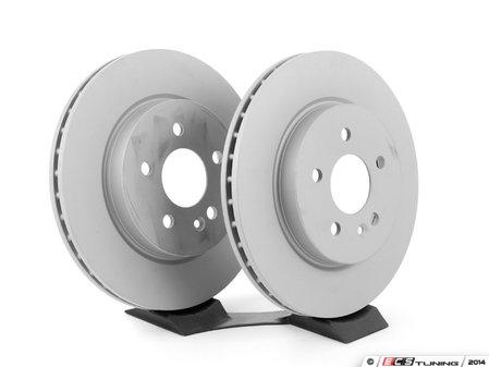ES#2588562 - 1634210412KT7 - Front Brake Rotors - Pair - Includes left and right front brake rotors - ATE - Mercedes Benz