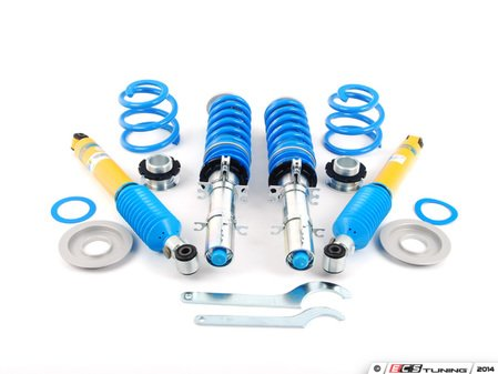 ES#2984069 - 48-080422 - PSS9 Coilover Kit - Adjustable Dampening - Average lowering of 30mm - 50mm front & rear - Bilstein - Audi Volkswagen
