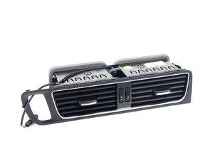 ES#2696683 - 8R1820951LWVF - Air Vent - Nero (Black) - Center - Adjustable air vent pair located at center dash - Genuine Volkswagen Audi - Audi