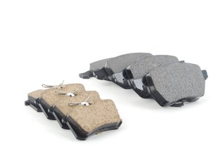 ES#2581325 - 1J0698151KKT - Front & Rear Genuine Brake Pad Kit - Replacement brake pads to restore your stopping power - Genuine Volkswagen Audi - Audi Volkswagen