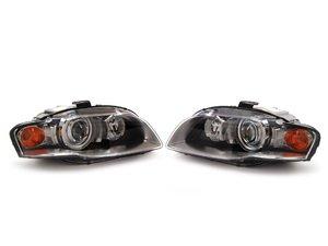 ES#2713174 - 8E0941029BDKT - AFS Xenon Headlights Set - Includes both headlight assemblies without bulbs - Genuine Volkswagen Audi - Audi