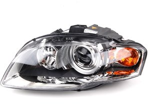 ES#11105 - 8E0941029AT - Bi-Xenon Headlight Housing-Left Side - Genuine European Volkswagen Audi -