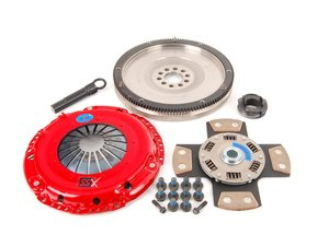 ES#3098792 - k70038fssxKT - Stage 4 Extreme Clutch Kit - Designed for extreme power that needs to be put to the wheels. Conservatively rated at 525 ft/lbs. - South Bend Clutch - Volkswagen