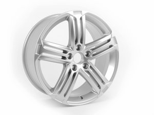 "ES#2576484 - 1K8601025F88Z - 18"" Talladega Wheel - Priced Each - (Only 3 Available) - 18""x8.0"" ET41 5x112 - Brilliant Chrome - Genuine Volkswagen Audi - Volkswagen"