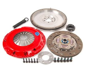 ES#3098814 - kmk515fhdoKT - Stage 2 Daily Clutch Kit - Designed for the daily-driven, weekend track warrior. Conservatively rated at 325 ft/lbs. - South Bend Clutch - Volkswagen