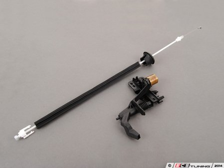 ES#2771010 - 99755538103KT - Door Handle Update Kit - Includes updated bowden cable and axle bearing - Left side fitment - Genuine Porsche - Porsche