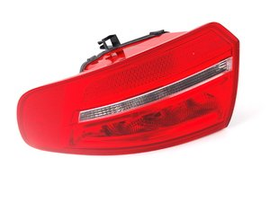 ES#459664 - 8P4945096E - Outer Tail Light - Right Side - Bring the quality look of your factory tail lights back to life! - Genuine Volkswagen Audi - Audi