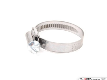 ES#2777100 - 25-40/9 - Adjustable Hose Clamp - Priced Each - Install new clamps to stay leak free. 25-40mm - ECS - Audi BMW Volkswagen Mercedes Benz MINI Porsche