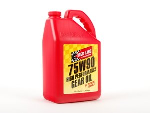 ES#2739026 - 57905 - Manual Transmission/Differential Fluid 75W-90 - One Gallon - For use in front  rear open differentials as well as some manual transmissions - Redline - Audi BMW Volkswagen