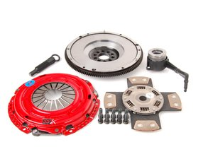 ES#3098675 - kr32fssxKT - Stage 4 Extreme Clutch Kit - Designed for extreme power that needs to be put to the wheels. Conservatively rated at 600+ ft/lbs. - South Bend Clutch - Volkswagen