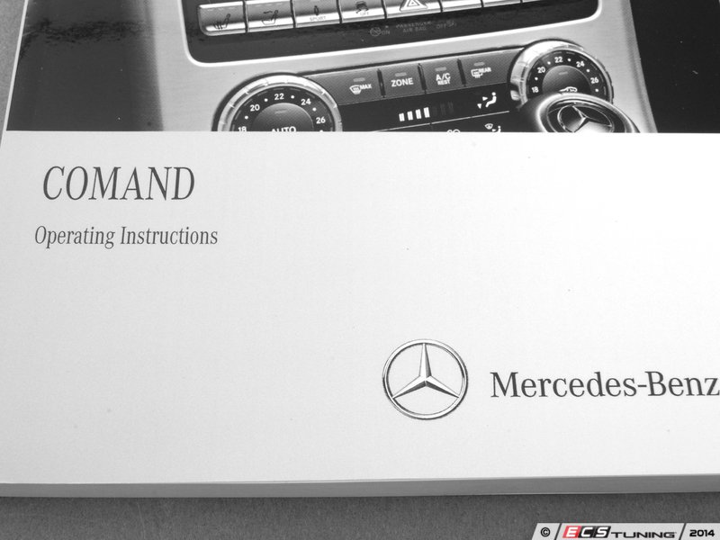 genuine mercedes benz 1725842500 comand operating manual