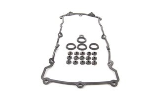 ES#2763281 - 11121721876KT - Valve Cover Gasket Kit - Includes all of the smaller seals often neglected - Elring - BMW