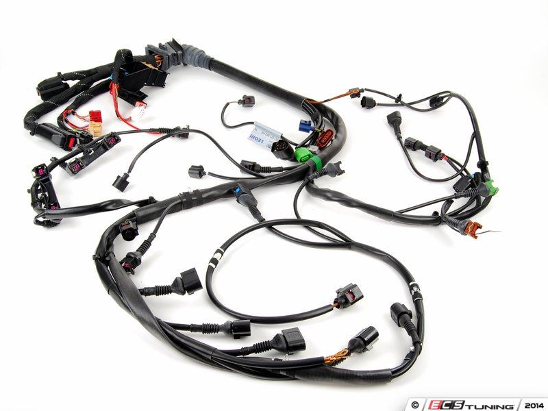 automotive engine wiring harness genuine volkswagen audi - 8e1971072pb - engine wiring ...