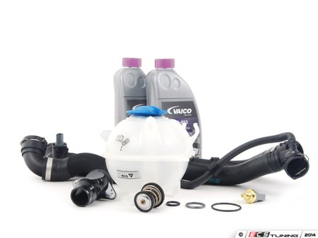 ES#2598213 - 06H121113KT6 - Cooling System Refresh Kit - Level 1 - This entry level kit covers the most common failures in the cooling system - Assembled By ECS - Volkswagen