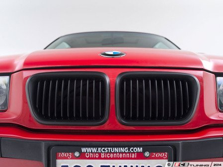 ES#1892381 - BM01-3602-B - Blackout Grille Set - Matte Black - Add style and individuality to your BMW in minutes! - ECS - BMW