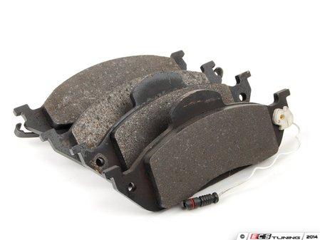 ES#2588475 - 1634201220 - Front Brake Pad Set - Does not include new brake pad wear sensor - ATE - Mercedes Benz