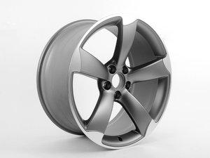 "ES#2600675 - 8T0601025CD - 19"" Twisted 5-Spoke Wheel - Priced Each - 19""x9"" ET33 5x112 Titanium - Genuine Volkswagen Audi - Audi"
