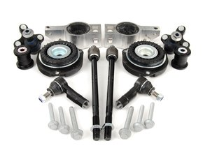 ES#2210298 - 1K01992 - Front Suspension Refresh Kit - Stage 2 - Includes tie rods, strut mounts, ball joints and S3 Control Arm Mounts - Assembled By ECS - Audi