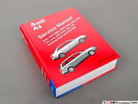 ES#2608900 - A408 - Audi B6/B7 A4 (2002-2008) Service Manual  - A comprehensive must-have for any do-it-yourselfer! Includes 1442 pages of maintenance, service, and repair information. - Bentley - Audi