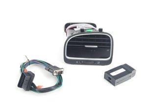 ES#2771071 - P3MK6LVRW - Integrated Digital Vent Gauge (Red & White Display) - Powerful plug-and-play multifunction display - pre-installed in an OEM dashboard vent! - P3 Gauges - Volkswagen