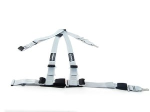 ES#2771833 - SR16199-E90 - Quick Fit Harness - Silver - Left - A DOT approved harness that utilizes factory attachment points - Schroth - BMW