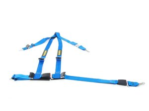 ES#2771778 - SR16121 - Quick Fit Harness - Blue - Left - A DOT approved harness that utilizes factory attachment points - Schroth - BMW