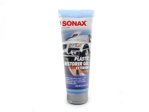 ES#2762739 - 210141 - Exterior Plastic Restorer Gel - 250ml - Revive and protect your exterior plastics - SONAX - Audi BMW Volkswagen Mercedes Benz MINI Porsche