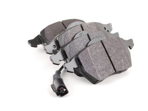 ES#2748688 - HB272B.763A - Front HPS 5.0 Performance Brake Pad Set - Next generation high performance street brake pad offering greater stopping power and pedal feel, with very low dust and noise - Hawk - Audi Volkswagen