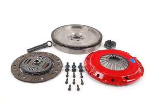 ES#3130053 - k70316fhdoKT - Stage 2 Daily Clutch Kit - Designed for the daily-driven, weekend track warrior. Conservatively rated at 325 ft/lbs. - South Bend Clutch - Volkswagen