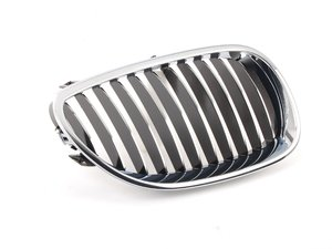 ES#78085 - 51137065702 - Chrome Kidney Grille - Right - Front bumper mounted grille - Genuine BMW - BMW