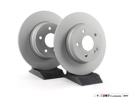 ES#2561824 - 2104231012 - Rear Brake Rotors - Pair - Solid Rotors - 290mm Diameter - ATE - Mercedes Benz